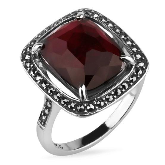 Кольцо серебряное TJR355