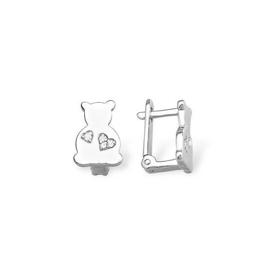 Серьги серебряные 1210017610