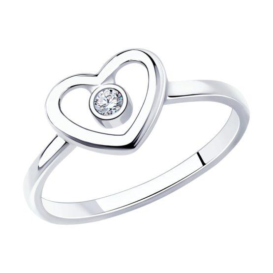 Кольцо серебряное 94012752