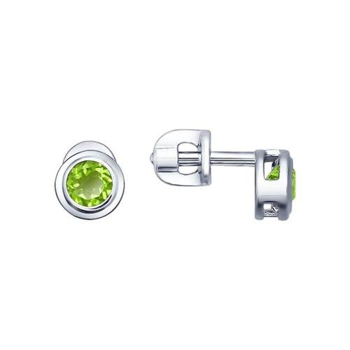 Серьги серебряные 92021084