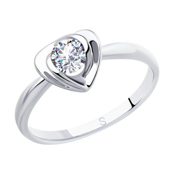 Кольцо серебряное 94012884