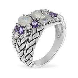 Кольцо серебряное TJR496