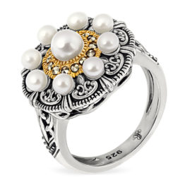 Кольцо серебряное TJR586