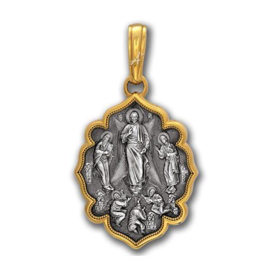 Серебряная икона 102.053