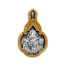 Серебряная икона 102.216