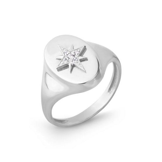 Кольцо серебряное 42000177