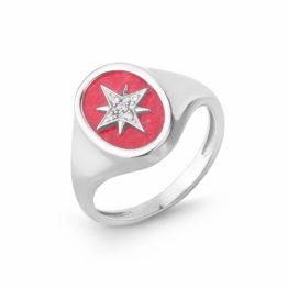 Кольцо серебряное 42000183/аг