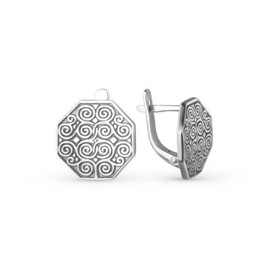 Серьги серебряные 44010372