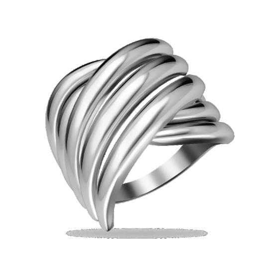 Кольцо серебряное 31-100886