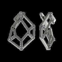 Серьги серебряные 31-210982