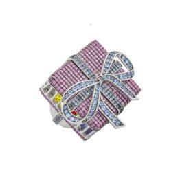 Кольцо серебряное ALR6485