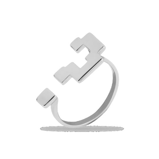 Кольцо серебряное 31-100754