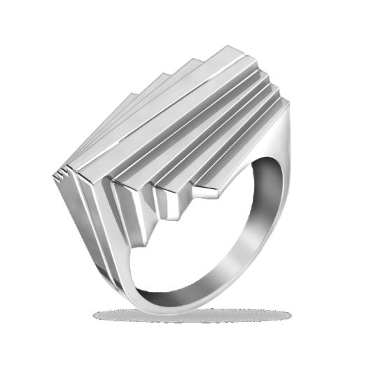 Кольцо серебряное 31-100979