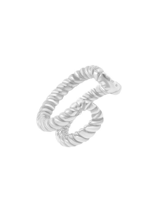 Серебряная серьга кф23179