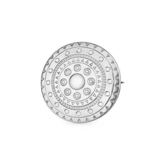 Брошь серебряная 44020211
