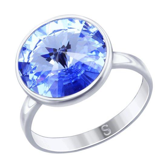 Серебряное кольцо 94012606