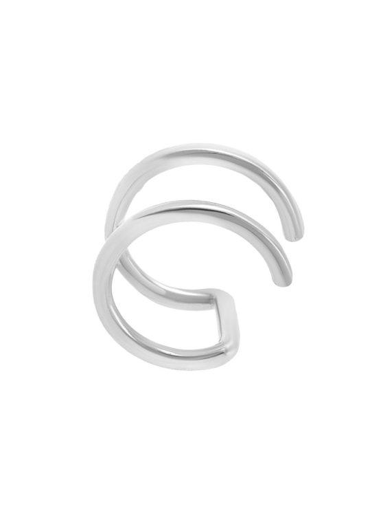 Серебряная серьга кф23177
