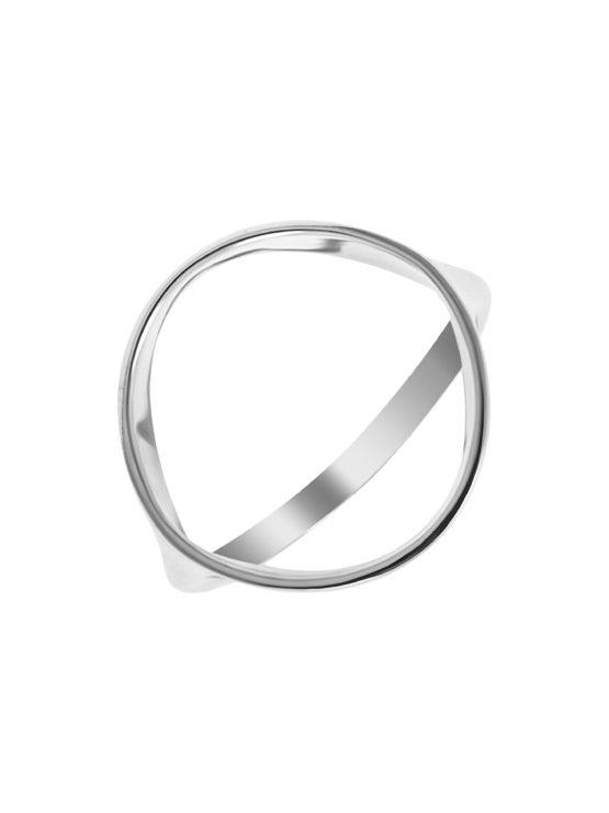 Кольцо серебряное к1305