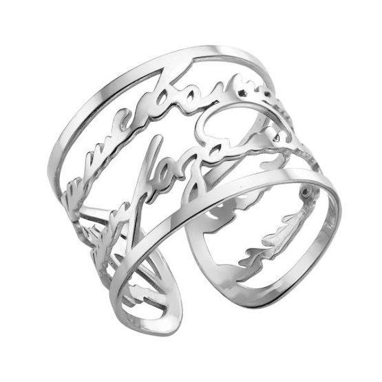 Кольцо серебряное 00012613-6