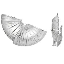 Серьги серебряные 00022350-6