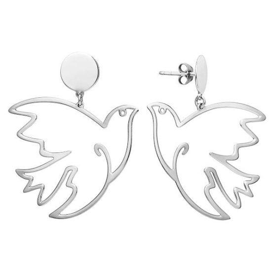 Серьги серебряные 000222565-6