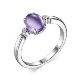Кольцо серебряное 01-2307/00АМ-00