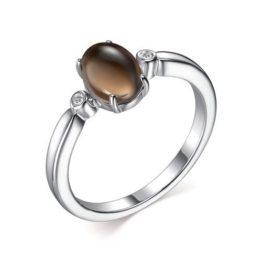 Кольцо серебряное 01-2307/00РТ-00