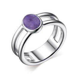 Кольцо серебряное 01-2633/0ЧРТ-00