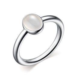 Кольцо серебряное 01-2634/00БА-00