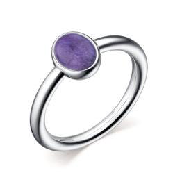 Кольцо серебряное 01-2634/0ЧРТ-00