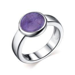 Кольцо серебряное 01-2635/0ЧРТ-00