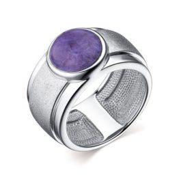 Кольцо серебряное 01-2636/МЧРТ-00