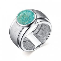 Кольцо серебряное 01-2636/МАМ3-00