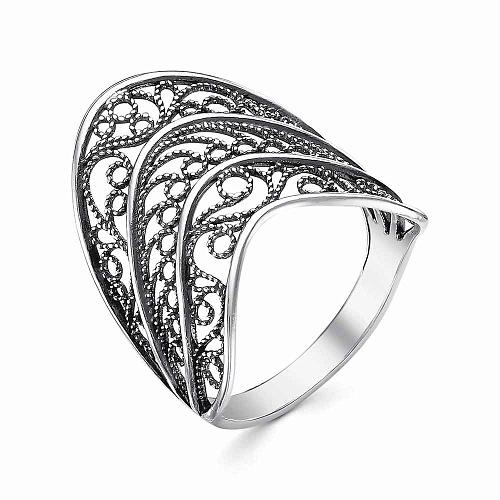 Кольцо серебряное 23012436