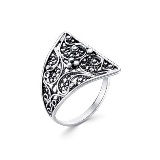 Кольцо серебряное 23012544