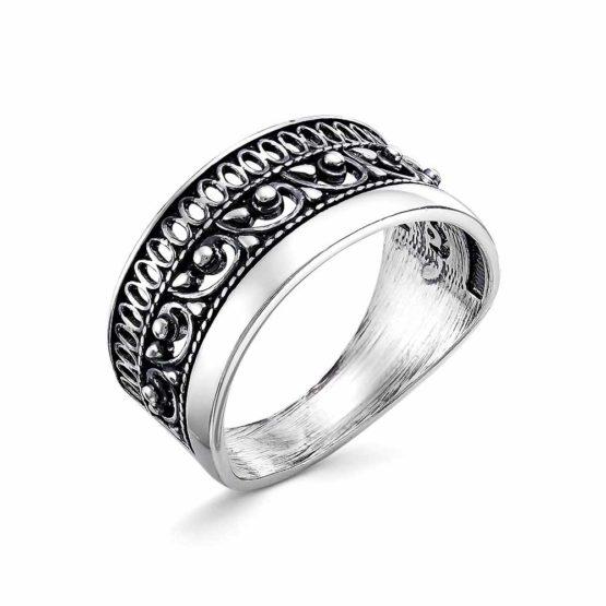 Кольцо серебряное 23012608