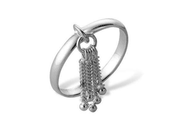 Кольцо серебряное 44000135