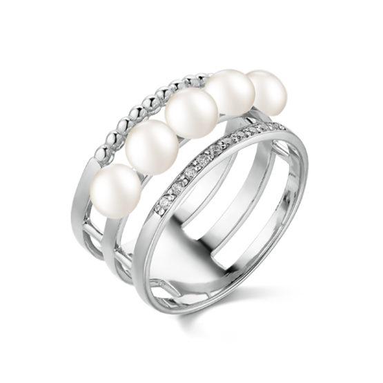 Кольцо серебряное 51541S1