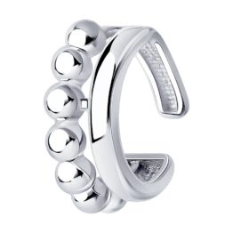 Серебряная серьга 94170159