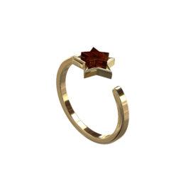 Кольцо серебряное R10010ZK