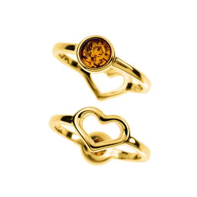 Кольцо серебряное R3181ZK