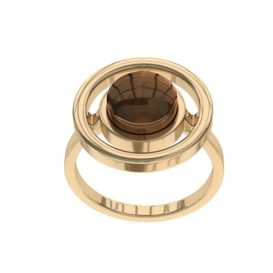 Кольцо серебряное R9190ZK