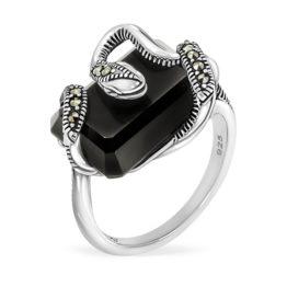 Кольцо серебряное TJR500