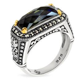 Кольцо серебряное TJR563