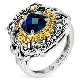 Кольцо серебряное TJR566