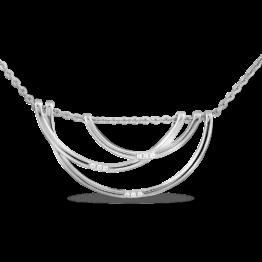 Колье серебряное 31-810451